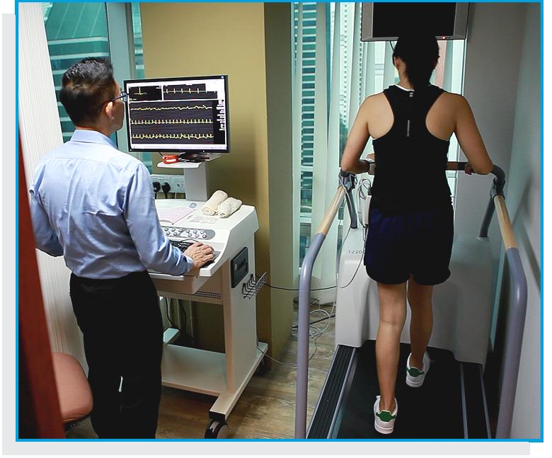 MHC Health Screening - Image 5 - treadmill stress ecg