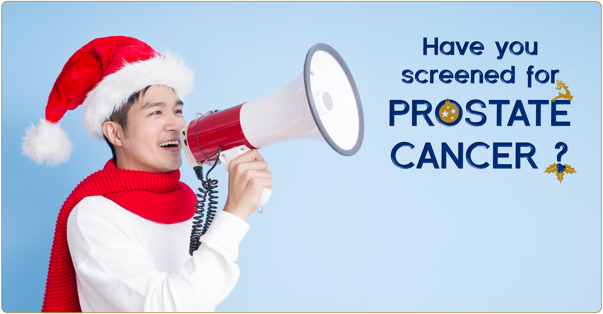 Have you screened for Prostate this Christmas?