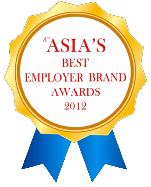 Asia Best Employer 2012 Logo