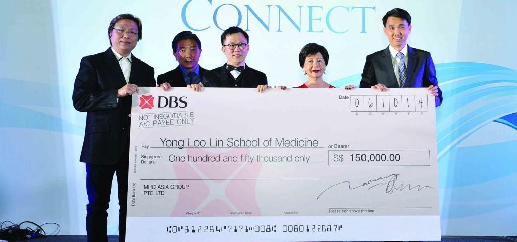 MHC Donates $150K NUS Yong Loo Lin