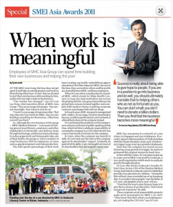 WhenWorkIsMeaningful_SME1Asia2011