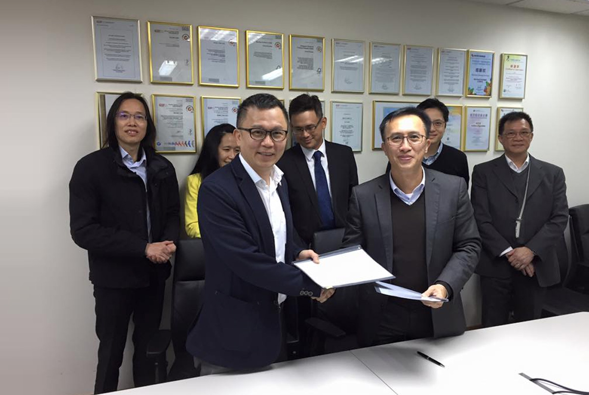 Signing of MOA with Novation Solutions
