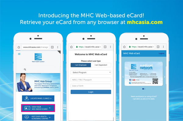 MHC Web-based eCard